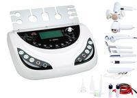 Wholesale Galvanic Salon Facial - 7 in 1 skin galvanic facial spa machine ultrasonic cosmetic device salon equipments