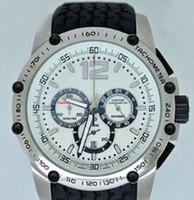 Wholesale luxury watches miglia online - Top Brand Racing Miglia Grans Turismos Men s Chrono Quartz Watches Stopwatch Luxury Swiss Mens Stainless Wristwatches Rubber Original Clasp