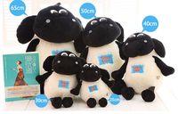Wholesale Shaun Sheep Timmy - Free shipping 1pcs shaun the sheep timmy sheep plush toy Classic Toys,25cm,30cm,40cm,50cm,65cm
