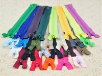 Wholesale 100 MIX Color Nylon Coil Zippers Tailor Sewing Tools Inch