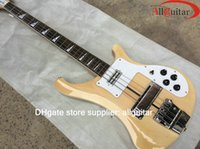 Wholesale One Piece Body Bass - 4003 Natural bass New one piece body varitone Electric bass 2015 Chinese Electric bass