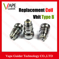 Wholesale Ego C Type Atomizer - Vhit Type B C Coils Vhit Type C Coil Head Wax Atomizer Metal Replacement Core Vhit Type B Coils For Vhit Tape B C Atomizer Ego Vaporizer