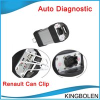 Wholesale Best Automotive Diagnostic Scanner - 2017 Newest Version Renault Can Clip V151 Best Quality Professional Renault Diagnostic scanner with DHL Fedex EMS Free Shipping