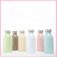 Wholesale candy drinks - Vacuum Cup Leak Proof Candy Color Stainless Steel Water Bottle For Creative Drinking Gift 16 5sg C R