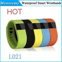 Wholesale tw64 smart bracelet watch online – TW64 Smart Bracelet Bluetooth Smart Wristbands watch Waterproof Passometer Sleep Tracker Function for android ios system OTH048