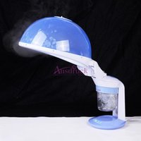Wholesale Portable Ozone - Free shipping Portable Face & Hair care Mini Facial HOT Steamer Salon Ozone Table Pro Personal use machine TOP Quality
