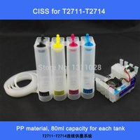 Wholesale Epson Printers Ciss System - Good price,High quality CISS,T2711-T2714 Chipped Ink supply system for WF-3620DTWF WF-3640DTWF WF-7110DTW WF-7610DWF WF-7620DTWF