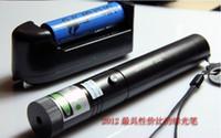 Wholesale Strongest Green Laser Pointer - Strongest high power green laser pointer 532nm 302 focusable burning green laser pointers cigarettes pop balloon+box