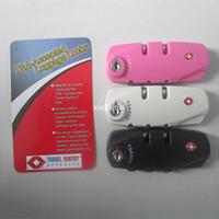 Wholesale International Locks - BOX International General TSA372 Customs password luggage security locks, luggage accessories travel bag fitted lock side locks