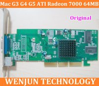 Wholesale Graphics Cards Agp - Free Shipping Original forMac G3 G4 G5 graphic card ATI Radeon 7000 64MB AGP Video Card VGA 2X  4X  8X order<$18no track