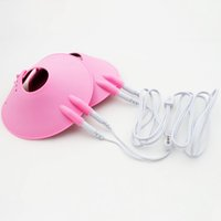 Wholesale Sex Toy Breast Enlargement - Electric Shock Breast Enlargement Vacuum Nipple Pumps Sex Toy for Adult