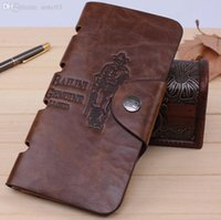 Wholesale Man Wallet Bailini - Wholesale-Special Promotion Free Shipping New Men's Vintage Wallet Fine Bifold Brown Genuine Leather & Pu Bailini Purse Wallets For