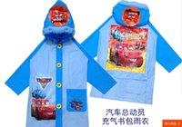 Wholesale Thomas Kids Coat - Wholesale-Free shipping Raincoat Children's Raincoat Kids Rain Coat Children's rainwear cars2 cartton thomas good quality