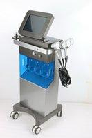 faltenspray groihandel-Multifunktions-Hydra Gesichtswasser Dermabrasion Mikrodermabrasion Maschine PDT LED Lichttherapie Oxygen Spray Faltenentfernung Hautpflege-Maschine