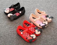 Wholesale Cute Summer Heels - size EU24-29 Shoes 2016 Summer girls Sandals Cute Girls shoes Children Mitchs Baby Shoes For Girl shoes mini