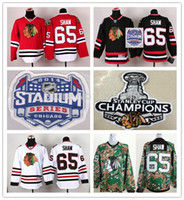 54fc9122f Cheap High Quality Men s Chicago Blackhawks Jersey  65 ANDREW SHAW  Authentic Stitched Ice Hockey Jerseys China