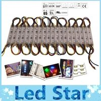 Wholesale Led Rgb Pixel Module High - Free Shipping 3000X Led Lights Modules Waterproof IP65 High Quality SMD 5050 Backlight Warm White Red Blue Green 12V RGB Led Pixel Modules