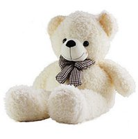One Piece !! 0.8m 1m 1.2m Plush Sleep Teddy Bear Teddy Bear Cadeaux de Noël Peluches Peluches Blanc Light Brown Deep Brown
