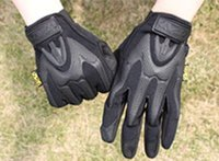 Wholesale Mpact Mechanix Wear Gloves - Wholesale-Free Shipping New MECHANIX MPACT Wear Cycling Motorcycle Outdoor Tactical Combat US Seal Army Military Full Finger Gloves