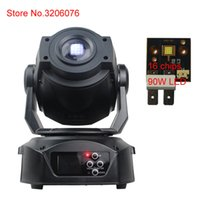 Wholesale Moving Head Led Gobo - Wholesale- Free shipping hot 90W LED moving head disco led light gobo stage light