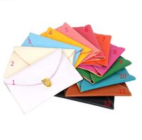 Wholesale Envelope Clutch Lady Hand Bag - 100pcs lot Free Shipping Hot Women 12 Colors Envelope bags Clutch Chain Purse Lady Hand bag Shoulder girl Hand Bag Gift