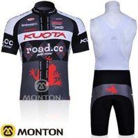 Wholesale New Team Cycling Kits - Wholesale-free shipping! new 2011 Kuota team short sleeve cycling jersey and bib shorts Kit,bike jersey,short cycling wear summer