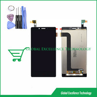 Wholesale Hongmi Quad - Wholesale-LCD Display + Digitizer touch Screen for Xiaomi Redmi Hongmi RedRice Note 5.5 inch Qualcomm Quad Core 4G FDD LTE free tool