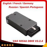 Wholesale Skoda Diagnostic Vas - 2016 High recommand VW Audi Skoda Seat scanner vas 5054a 5054 with ODIS V3.0.3 vas5054 with English French Spanish Germany Russian