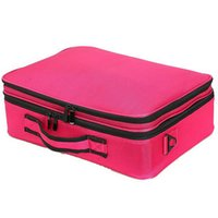 Wholesale Artists Bags - Big Promotion !Professional Multi -Function Organizer Cosmetic Fashion Makeup Case Bag Artist Dedicated Makeup Storage High Quality St1 #
