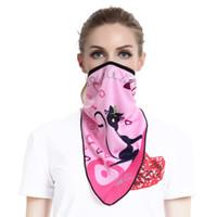 Wholesale fox bat - Wholesale- Cycling Face Mask Sunscreen Anti-Dusty Skiing Masks Outdoor cycling Face Mask UV Protect Cycling Ski Breathable BAT FOX 8 CLR MG