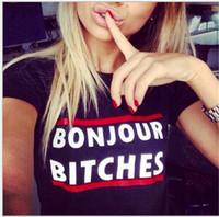 üstler için büyük kız toptan satış-Kadın Yaz Kısa Kollu T Gömlek Büyük Kız Mektuplar Baskı Gömlek Tops Lady Kazak Pamuk Üstleri Kadın Giyim Tees Siyah / Beyaz J11566