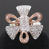 Wholesale Korean Import High End Jewelry - 2012 new South Korean imports of high-end jewelry IRIS flower ring ring ring ring wedding dinner