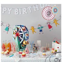 Party Decoration Bunting BAMBINO DOCCIA ROCK A Bye Baby TAVOLA DECORAZIONI BATTESIMO NAMING PARTI tablewear Tatuaggi