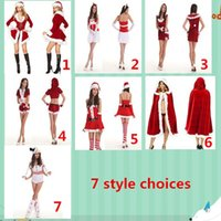 Wholesale New Style Mascot Costumes - 2015 new Christmas costumes COSPALY game uniforms role-playing game uniforms Halloween costume Seven kinds Mascot style options