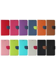 Wholesale Cross Iphone Covers - Universal Wallet PU Flip Leather Case Cross Pattern Rotating Phone Cover For 4.4 4.8 5.3 5.7 inch for Mobile Phone iPhone Samsung