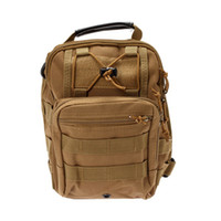 Wholesale Canvas Tactical Backpack - Hot selling! Outdoor Shoulder Tactical Backpack Rucksacks Sport Camping Travel Bag Day Packs Men Bags Women Bags