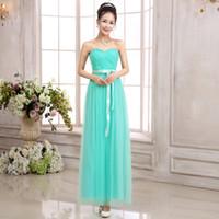 Wholesale Outlet Evening Dresses - 2015 Bride wedding bridesmaid dress long paragraph Bra chest wrapped dress banquet evening dress factory outlets