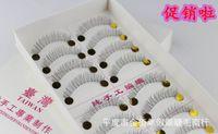 Wholesale Korea Taiwan - Wholesale-10 pair216 transparent terrier fishing line manufacturers selling wholesale Taiwan pure manual eyelash Korea false eyelashes
