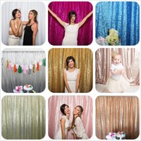Wholesale photography wall backdrops for sale - Dreamy Colors Glittering Background Wedding Decor Wall Sequin Backdrop Photography Backdrop Party Festival Wedding Sequin Fabric