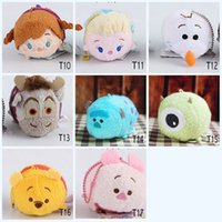 Wholesale Mobile Phone Tv Out - TSUM Screen wipe ornaments For Mobile Phone or Ipad new TSUM TSUM inside out Toys tsum mind Impossible Mobile Screen Cleaner Plush Toys
