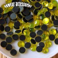 Wholesale Hotfix Strass - (1440 pieces lot) ss10 citrine dmc hotfix glass rhinestones diy iron on hot fix crystal strass