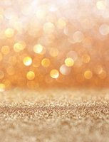 Non-Woven sparkle backgrounds - 5 FT Custom Children Bokeh Backgrounds Photography Backdrops Sparkle Fondos De Estudio Fotografia Vinyl Backdrops For Photography HG