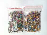 Wholesale Rhinestone Crystal Dust Plug - Wholesale-500pcs lot Bling Diamond Rhinestone Crystal Colorful Anti Earphone Dust Plug For iPhone6 iPhone5 5S For Samsung Galaxy S6 S5 Etc