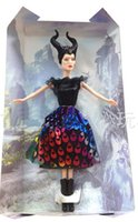 Wholesale 30 OFF New Arrival cm Dark Beauty Maleficent Doll New Toy for Children christmas gift Dolls hot toys