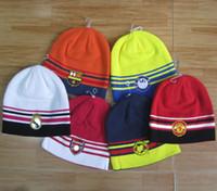 Wholesale Green Garden Design - 5 designs Team Hats hip hop Winter hat street men and women in Sport Hats tide brand hedging Head Warmer