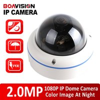 Wholesale Low Lux Dome Camera - XMEYE Security H.264 2MP 1080P IP Camera With POE Dome Outdoor HI3516C + IMX291,Starlight Low Lux Day Night Color,180 360 Degree Wide Angle