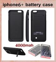 аккумулятор для iphone6 оптовых-4000mAh power банки крышка батареи чехол для iPhone 6 plus зарядное устройство чехол для iPhone6 + задняя крышка батареи чехол с розничной упаковке BAC020
