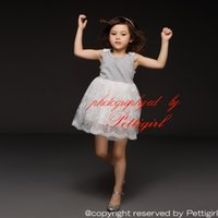 Wholesale Popular Kids Costumes - Pettigirl Retail 2016 New Popular Girl Dress Sleeveless Embroider And Mesh For Children Clothing Kids Costume Drop Shopping GD50309-24