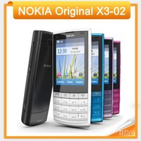 Wholesale x3 camera for sale - Holiday Sale Original Nokia X3 G Mobile Phone MP with Russian Keyboard Colors In Stock
