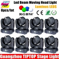 Großhandels-preiswerter Preis-8pcs / lot 4 Kopf 10W führte beweglichen Lichtstrahl-Licht RGBW 4in1 4 Beam LED Pinspot Mini Moving Head / DMX / dj Beleuchtung 12.09 / 16CH